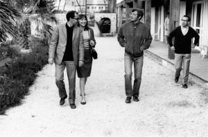 ... Griffon, 'Pierrot'), Anna Karina (Marianne Renoir), Jean-Luc Godard