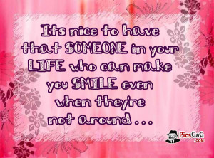 What Can Make You Happy Friend Quote Who Make You Smile. Its nice to ...