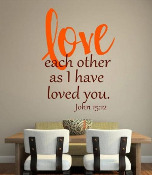 Bible quotes love one another