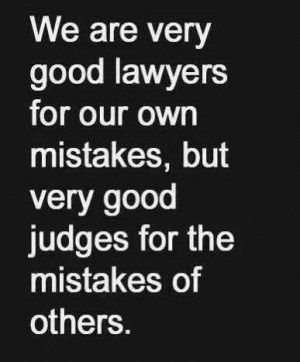 Judgment Quotes and Sayings