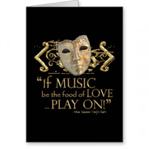 Twelfth Night Music Quote