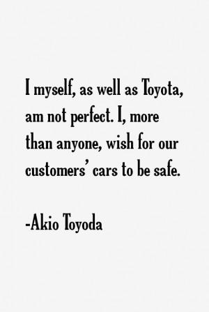 Akio Toyoda Quotes & Sayings
