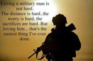 Loving a military man... / inspiring quotes and sayings - Juxtapost