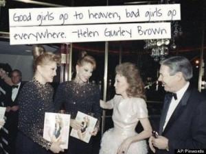 HELEN GURLEY BROWN: 1922-2012