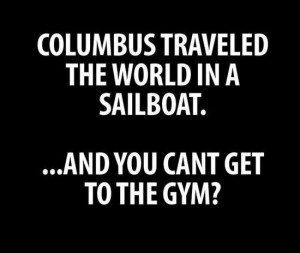 Funny Quotes For Working Out #9