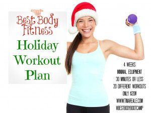 Holiday Workout Plan & Nutrition Plans