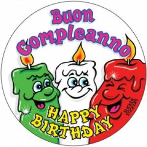 788 - Italian Happy Birthday