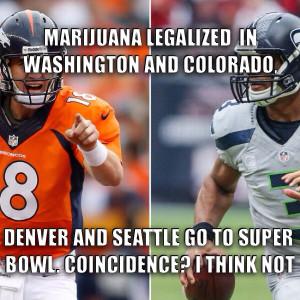 Super Bowl 2014 meme Smoke-a-Bowl Doobie Bowl marijuana legalized in ...
