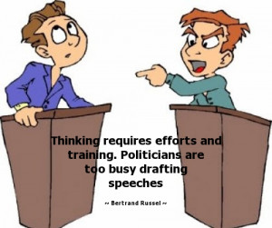 ... too busy drafting speeches - Bertrand Russell Quotes - StatusMind.com