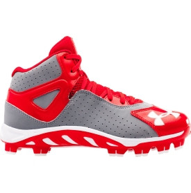 Under Armour Kids 39 Spine Heater Mid TPU Baseball Cleat Dick 39 s