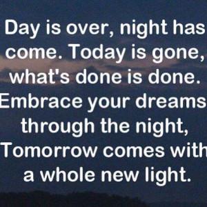 good night time prayer for kids