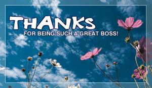 Thanks Great Boss