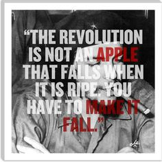 Che Guevara Quote, Canvas Art Print $36.99 #revolution che guevara ...