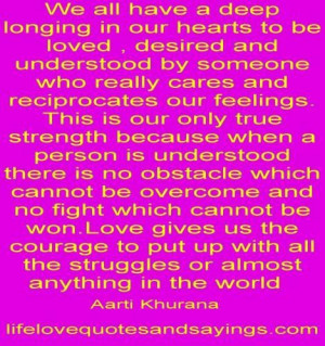 Longing for love quotes