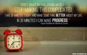 Make progress!