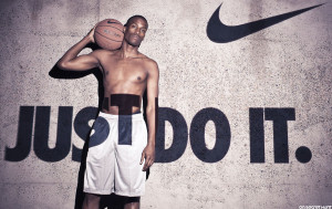 Just Do It – Nike Basketball Quotes Wallpaper