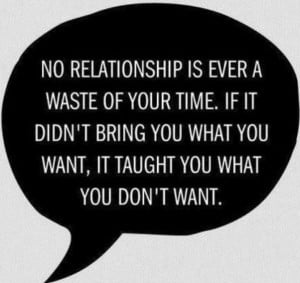 Failed Relationships.