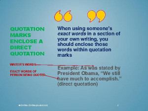 Powerful Punctuation: Quotation Marks