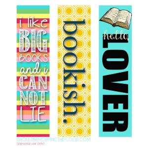 Free Printable Bookmarks with Flair. #printable #hellolover # ...