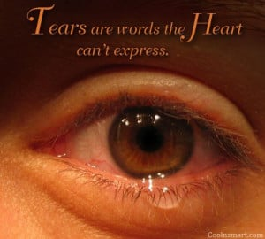 Crying Quotes and Sayings