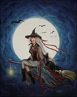 ... magick witchcraft photos paintings samhain werewolves witch paintings