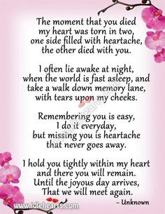 Quotes about missing my mother, inspirational quotes, Quotes to More