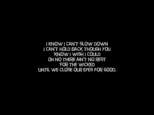 Quotes No Rest Hd Wallpaper 1080p Just Free Wallpaperz Picture