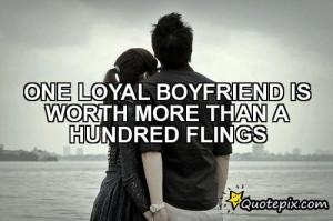 Loyal Boyfriend Quotes