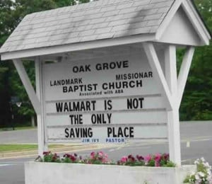Atheism Ridiculous Church Signs