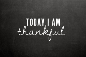 What are you thankful for at work?