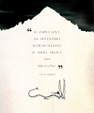 quotes LOTR my stuff my graphics jrr tolkien dragons Smaug mylotr idk ...