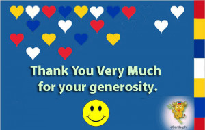 for thank you for generosity quotes about generosity 140 quotes ...