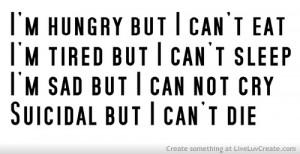 Bulimia Sad
