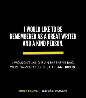 ... after me, like Jane Birkin.