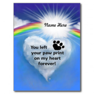 Pet Memorial Cards And More