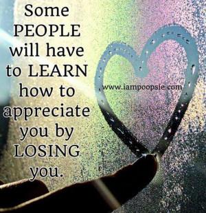 Appreciation quote via www.IamPoopsie.com