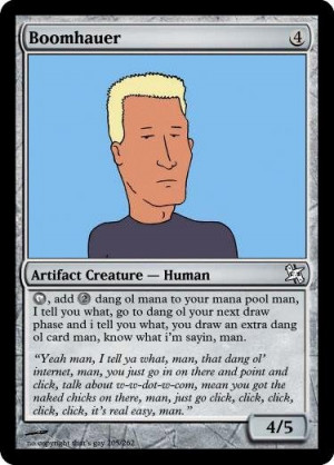 boomhauer comp. first name jeff, occupation ranger.. DU SEE THAT PART ...