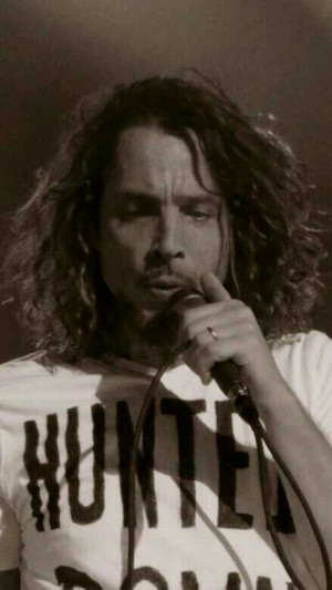 Chris Cornell. Soundgarden--- I was at this show!!!