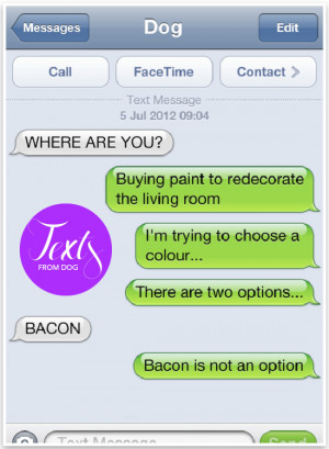 Text from Dog - Funny texts from dog | Pretty Fluffy