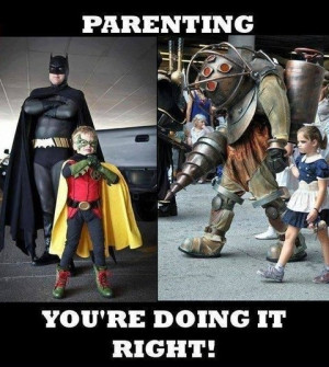 Parenting Cage Funny Picture
