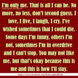 my story, me, it's me