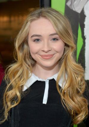 Sabrina Carpenter Actress/singer Sabrina Carpenter arrives at The ...