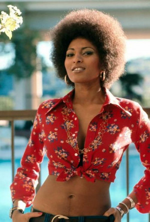 ... , Beautiful, Style Icons, Nature Hair, Kimonos, Pam Grier, Foxy Brown