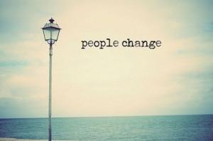 change, changing, hurt, lamp, ocean, people change, quote, typography
