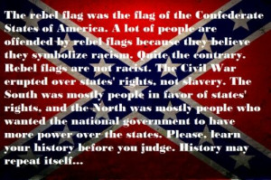 Meaning of the Confederate flag! HELL YEA! So people can shut the hell ...