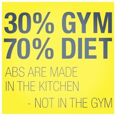 Keep the diet clean! This is simply a fantastic quote for anyone ...