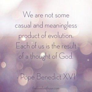 Pope Benedict XVI | Quotes