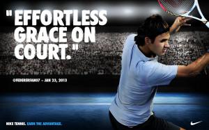 Roger Federer Nike Australian Open For Desktop