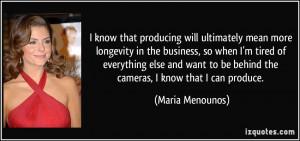 More Maria Menounos Quotes