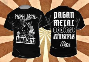 Art Nr pagan metal against antifa beidseitig